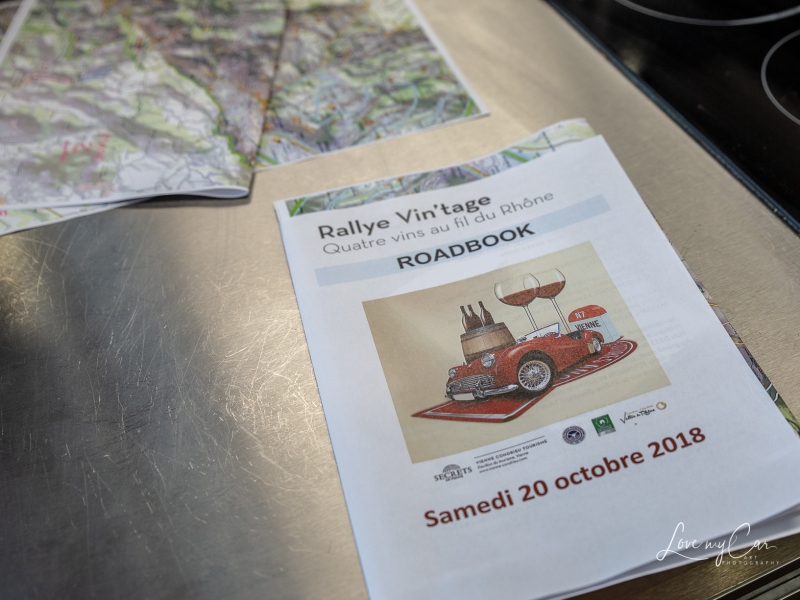 road book rallye vin'tage vienne condrieu